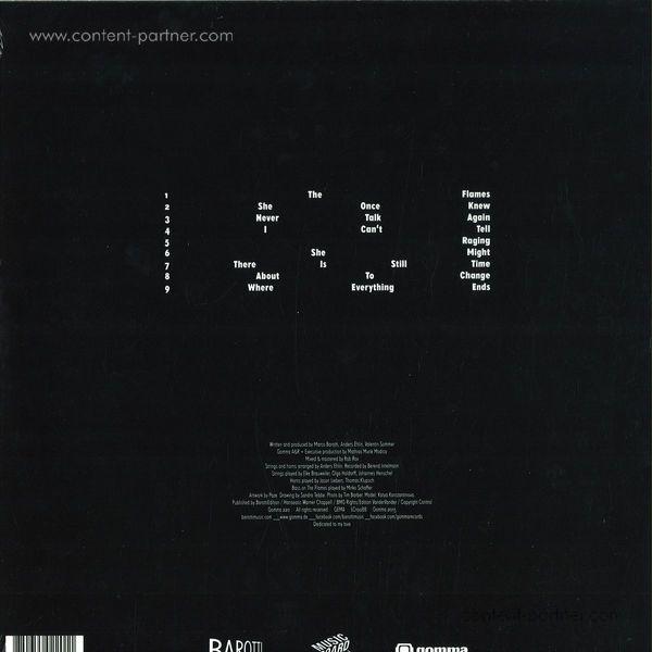 Barotti - Rising (1 LP ALbum) (Back)