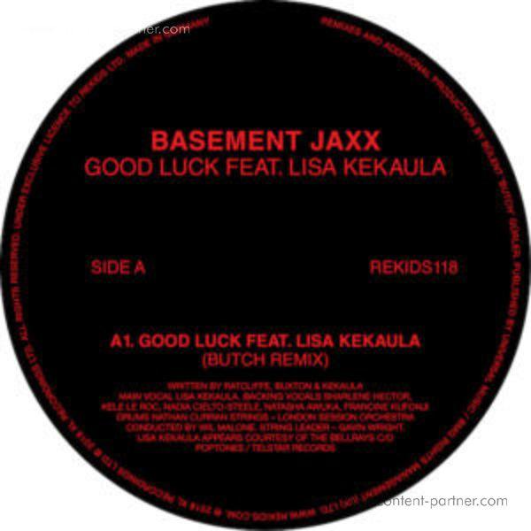 Basement Jaxx Fest. Lisa Kekaula, Butch - Good Luck (Butch Remixes)