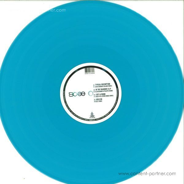 Bcee - Lost & Found Remixes (Back)