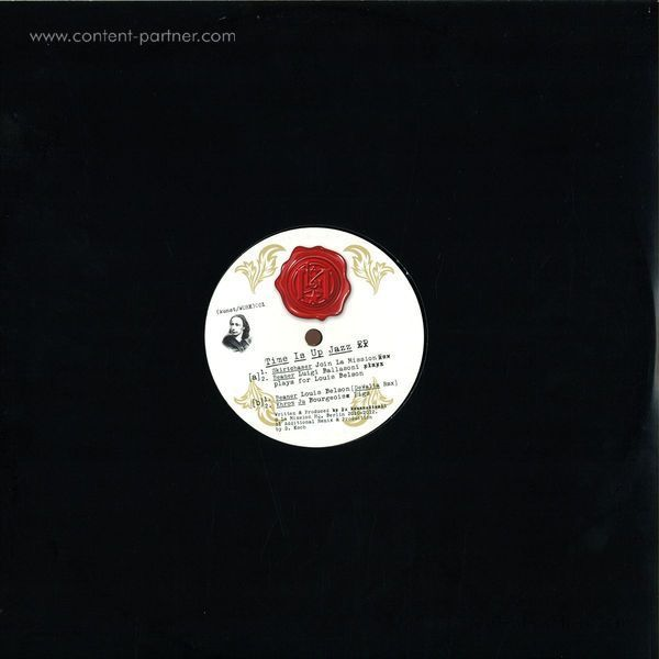 Beaner / Skirtchaser / Khrom Ju - Time Is Up Jazz EP (Back)