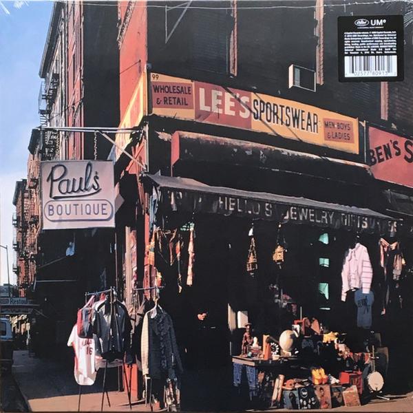 Beastie Boys - Paul's Boutique (30th Anniv. 2LP reissue) (Back)