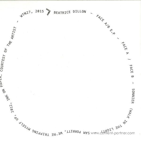Beatrice Dillon - Face A/B (Back)