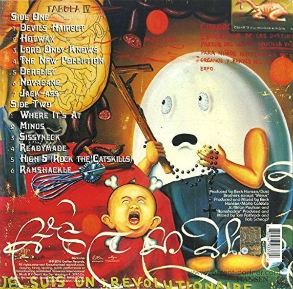 Beck - Odelay (LP) (Back)