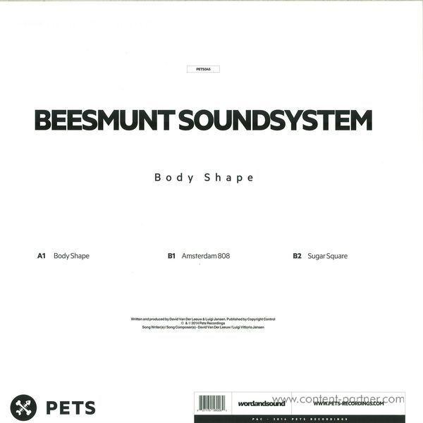 Beesmunt Soundsystem - Body Shape (Back)