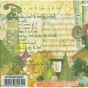 Bell Orchestre - Recording A Tape The Colour Of The Light (Back)
