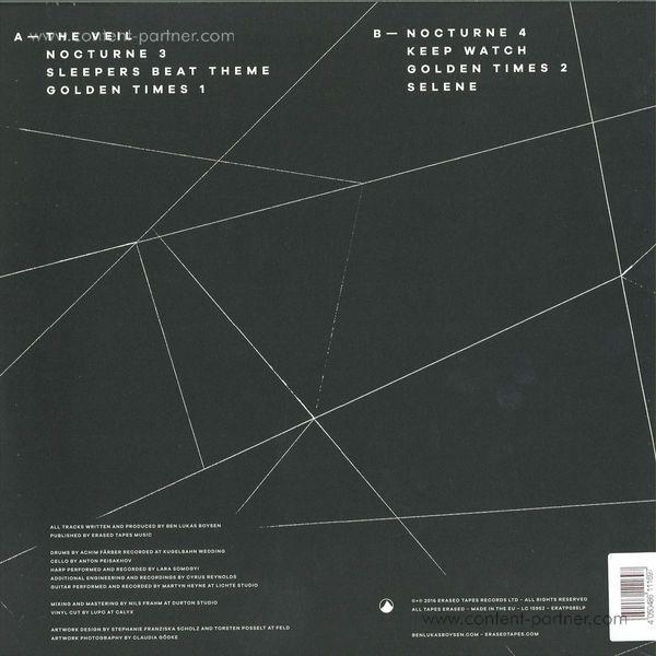 Ben Lukas Boysen - Spells (LP + MP3 + Poster) (Back)