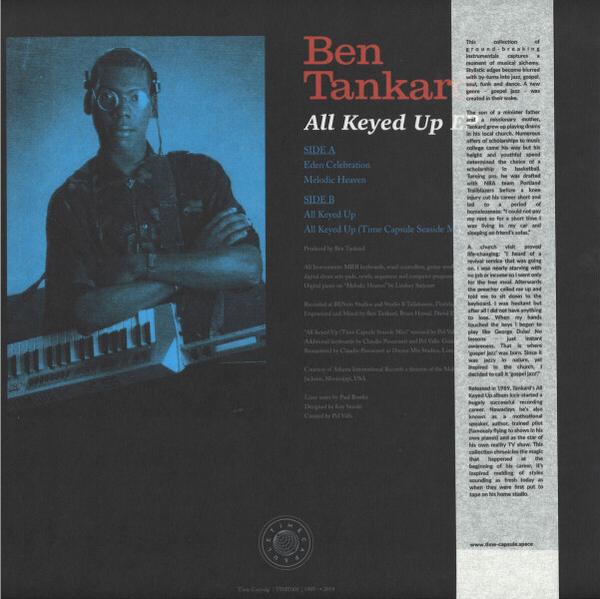 Ben Tankard - All Keyed Up EP (Reissue) (Back)