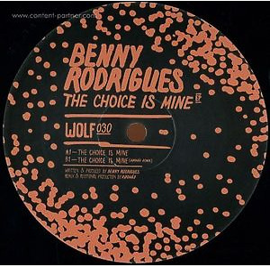 Benny Rodrigues - The Choice Is Mine Ep (Rødhåd Remix)