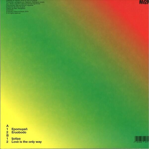 Bep Kororoti & Akin - Love Is The Only Way (Back)