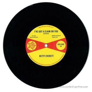 Betty Everett/Juanita Nixon - I've Got A Claim On You/Stop Knockin'