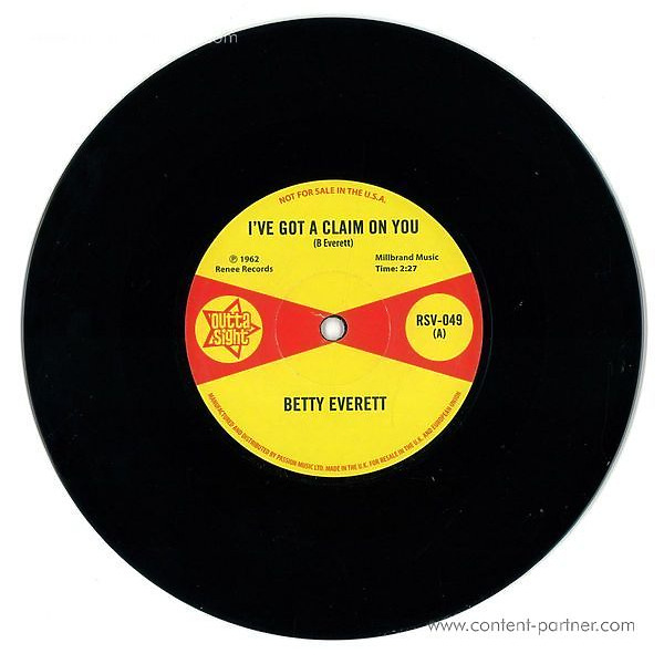 Betty Everett/Juanita Nixon - I've Got A Claim On You/Stop Knockin'