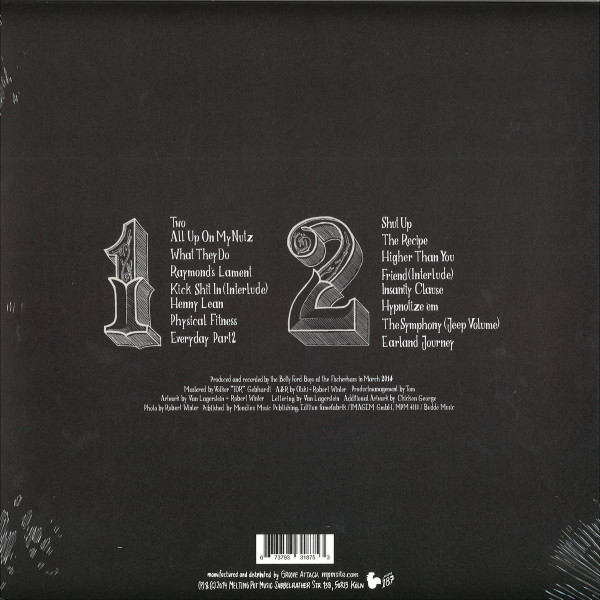 Betty Ford Boys - Retox (LP+MP3) (Back)
