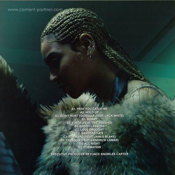 Beyonce - Lemonade (Ltd. 2LP Yellow Vinyl, gatefold) (Back)