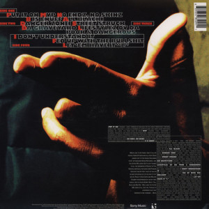 Big L - Lifestylez Ov Da Poor And Dangerous (Repress) (Back)