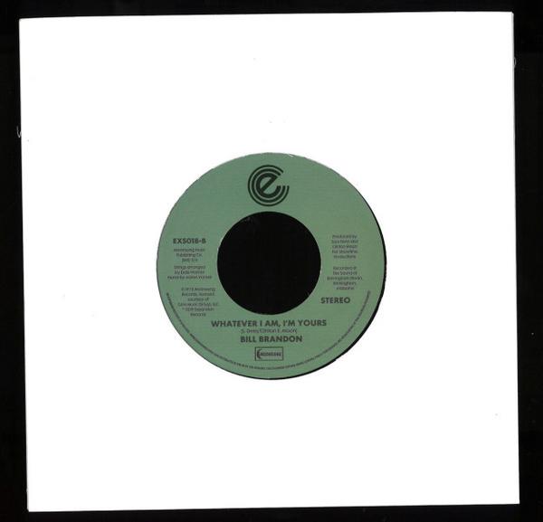 Bill Brandon - The Streets Got My Lady (Remastered) (Back)