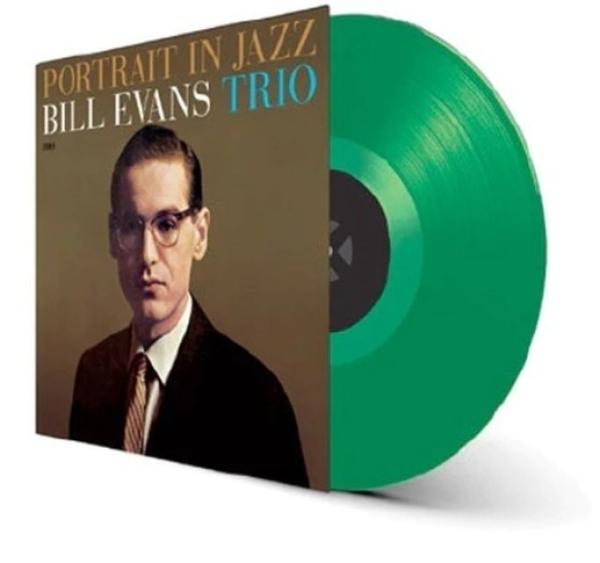 Bill Evans Trio - Portrait In Jazz (Ltd. transp. green Vinyl LP) (Back)