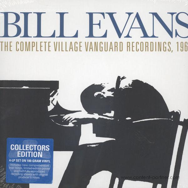Bill Evans Trio - The Complete Village Vanguard Recordings (4LP Box)