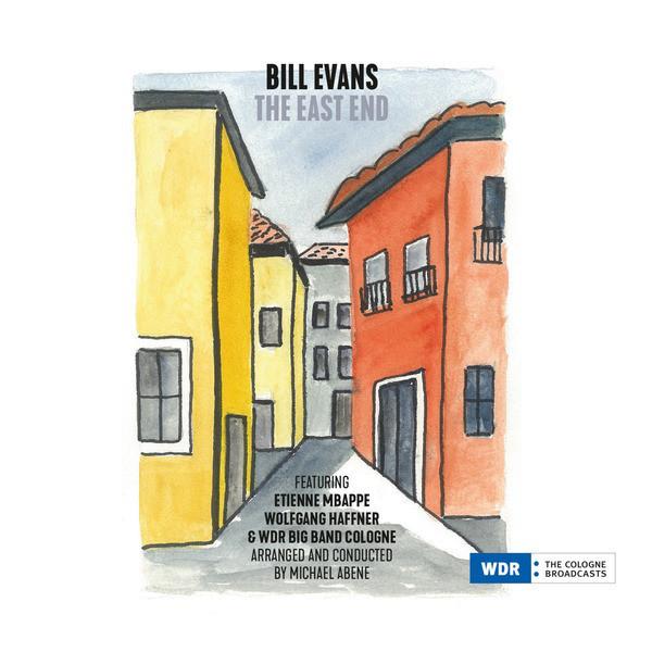 Bill Evans feat. W. Hafner, E. Mbappé & WDR Big B - The East End (180g 2LP, DMM)