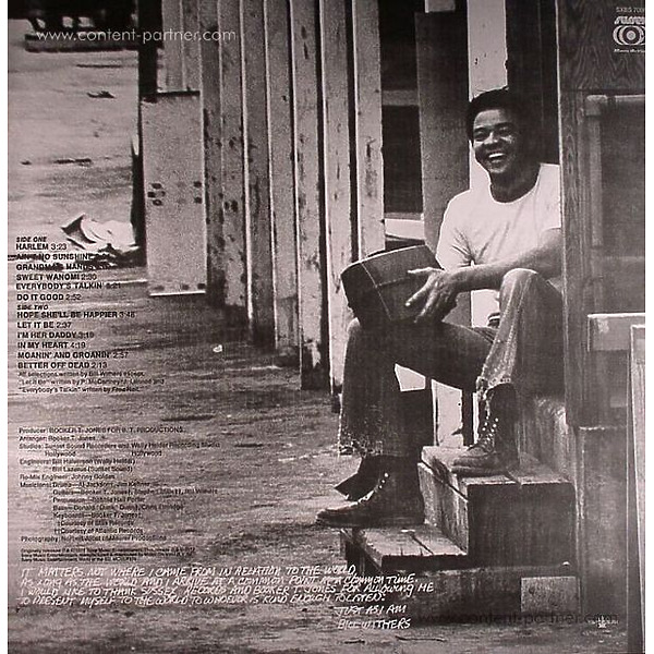 Bill Withers - Just As I Am (Back)
