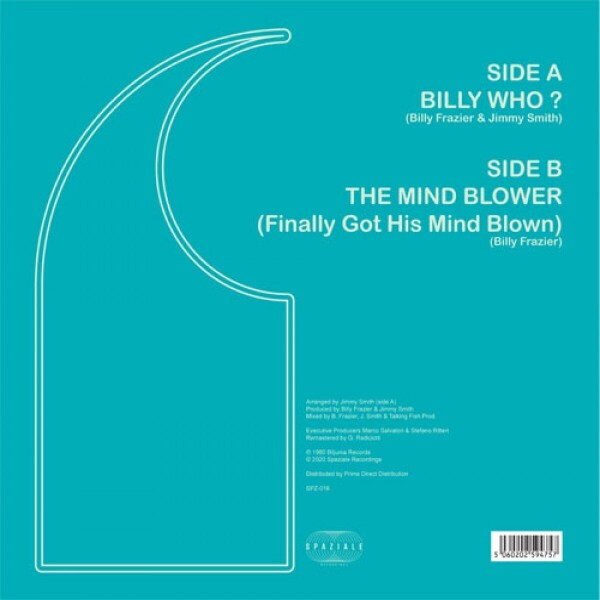 Billy Frazier - Billy Who? / The Mind Blower (Back)
