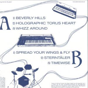 Billy Ray de la Haye - Beverly Hills (Back)