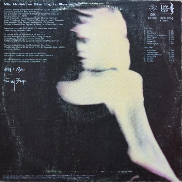 Bitstream - Communion EP (Back)