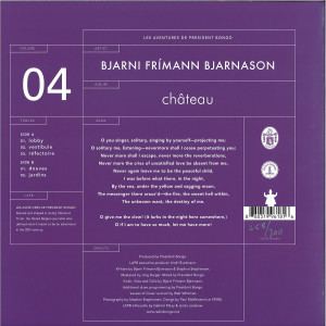 Bjarni Frímann Bjarnason - Chateau (Back)