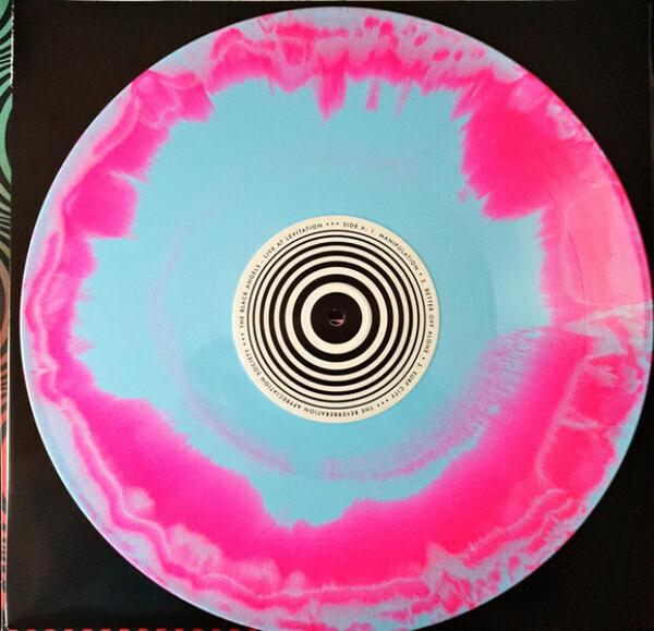 Black Angels - Live At Levitation (Indie Only Splatter Vinyl LP) (Back)