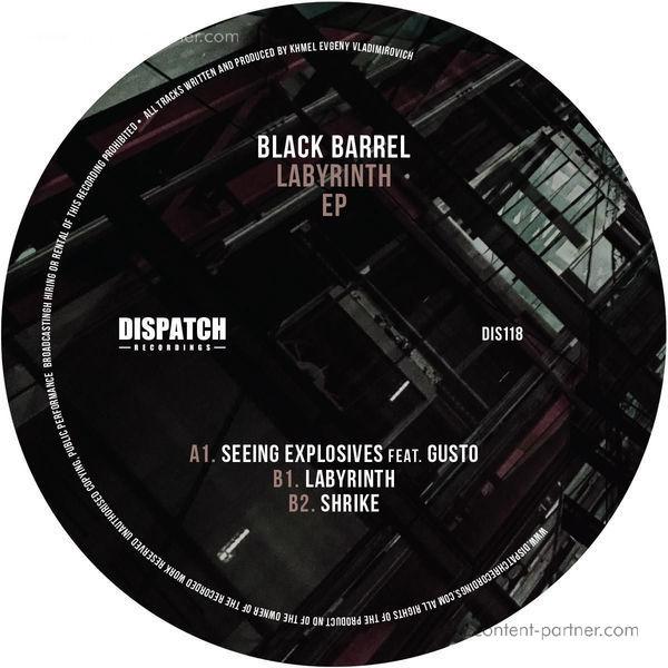 Black Barrel - Labyrinth EP (Back)