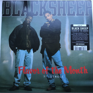 "Black Sheep - Flavor of the Month / ... (7"" Reissue)"