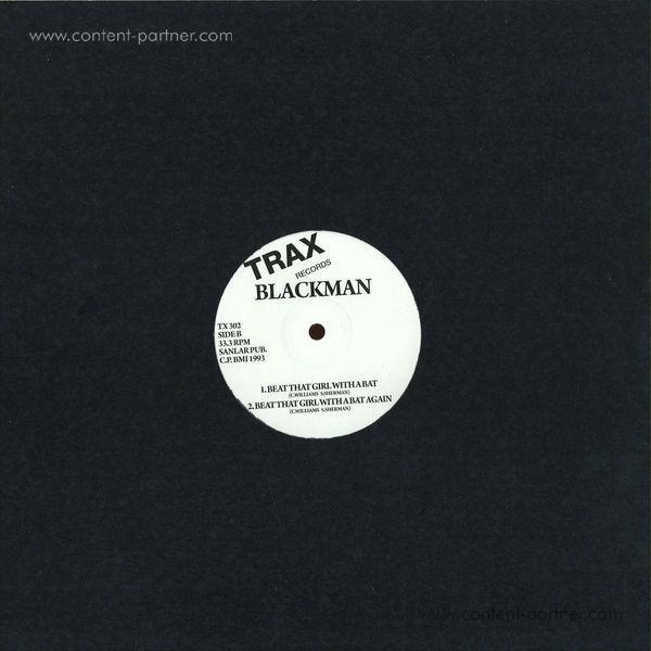 Blackman - Beat That Bitch With A Bat (Back)