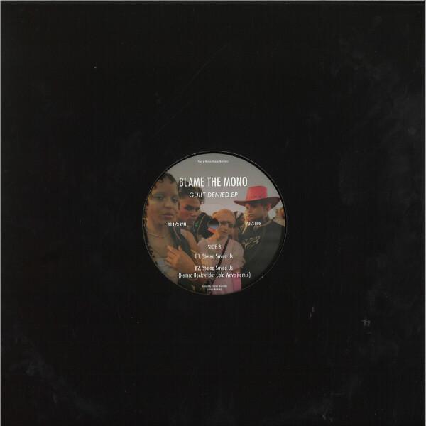 Blame The Mono - Guilt Denied EP (Back)