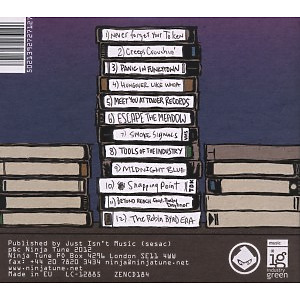 Blockhead - Interludes After Midnight (Back)