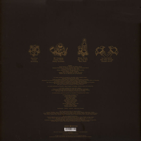 Blundetto - Bad Bad Things (2LP 2018 Edition) (Back)