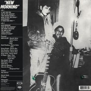 Bob Dylan - New Morning (180g LP) (Back)