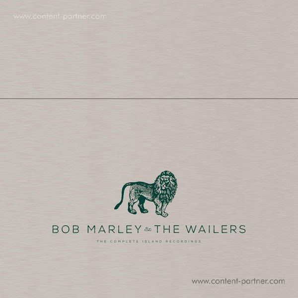 Bob Marley & The Wailers - The Complete Island Record. (Metal Box!) (Back)