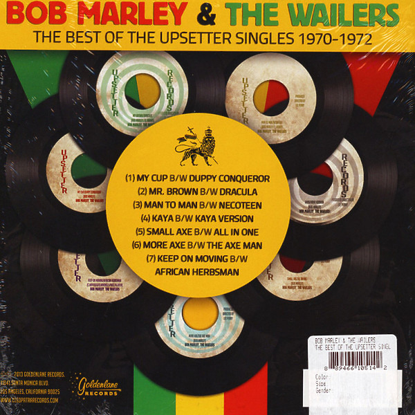 "Bob Marley - The Best Of The Upsetter Singles (7 x 7"" Boxset) (Back)"