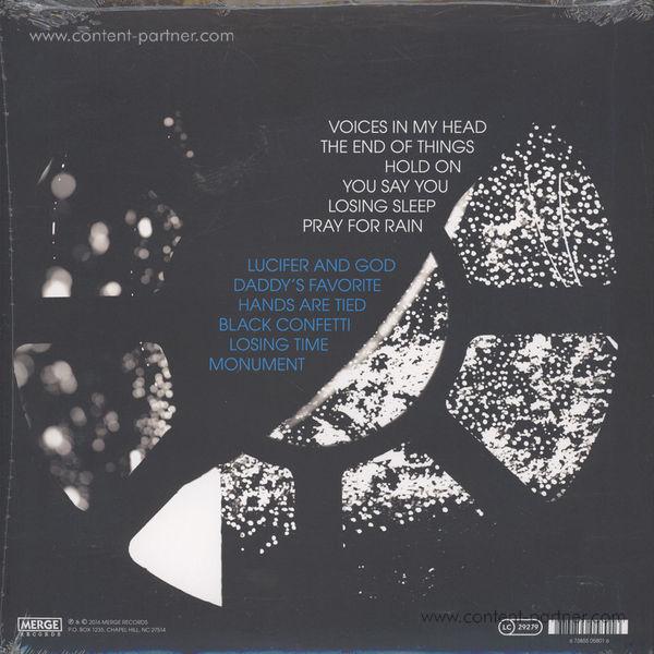 Bob Mould - Patch The Sky (LP+MP3) (Back)
