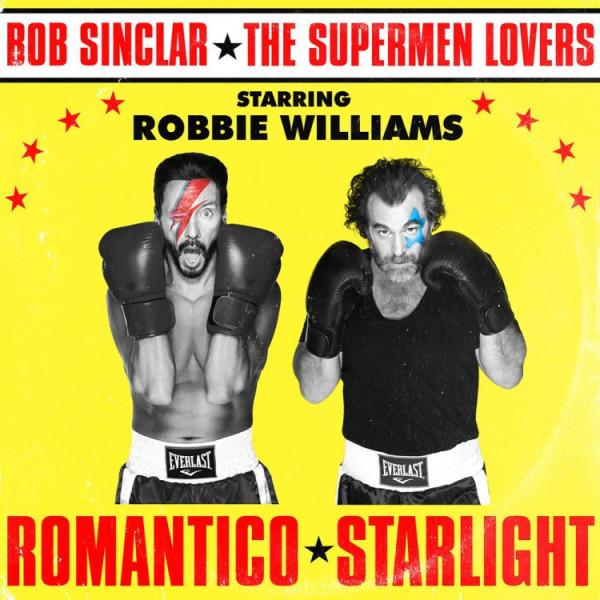 Bob Sinclar x Supermen Lovers x Robbie Williams - Romantico Starlight (Gold Coloured Vinyl)
