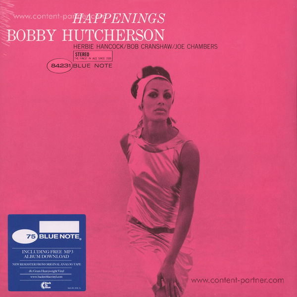 Bobby Hutcherson - Happenings (Rem. + DL Code)