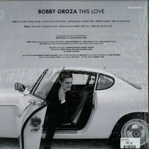 Bobby Oroza - This Love (Black Vinyl LP) (Back)