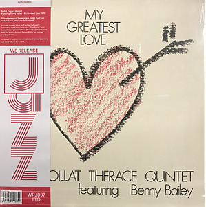 Boillat Thérace Quintet - My Greatest Love (180g Reissue LP, 350g Sleeve) (Back)