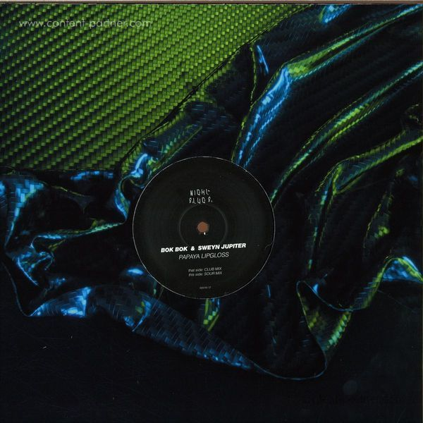Bok Bok & Sweyn Jupiter - Papaya Lipgloss (12''+Color Sleeve9) (Back)