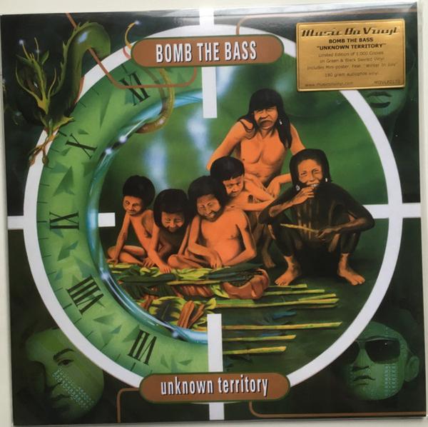 Bomb The Bass - Unknown Territory (Ltd. Green&Black Swirled LP)