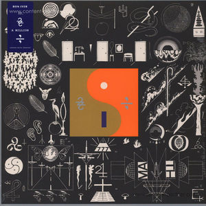 "Bon Iver - 22, A Million (LP + MP3 + 12"" Bundle)"