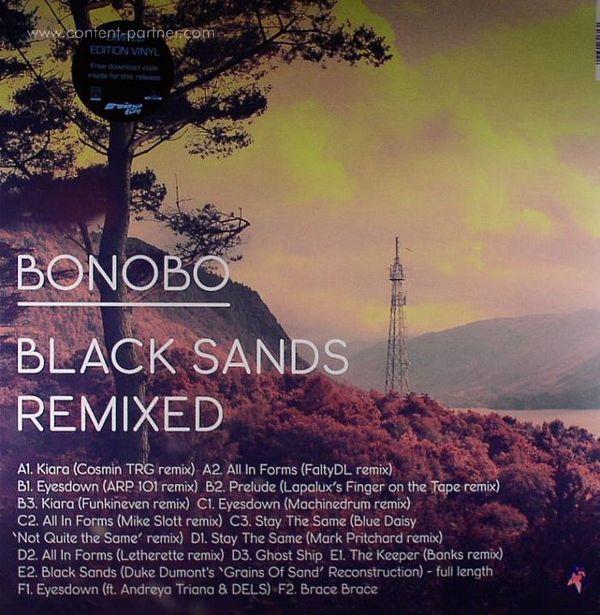 Bonobo - Black Sands Remixed (3LP+MP3)