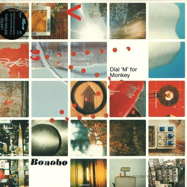 "Bonobo - Dial ""M"" for Monkey (180g Reissue!!)"