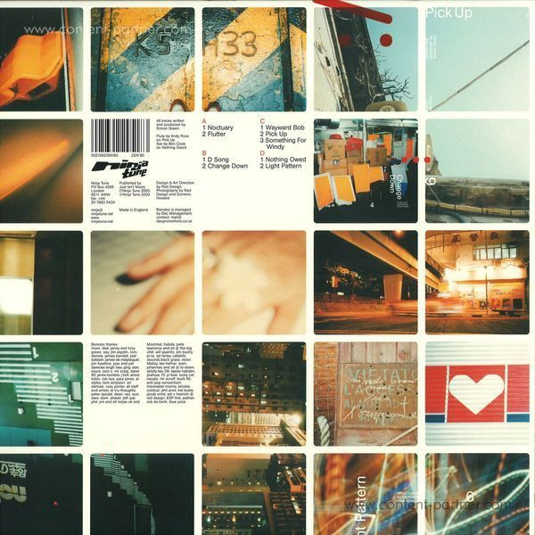 "Bonobo - Dial ""M"" for Monkey (180g Reissue!!) (Back)"