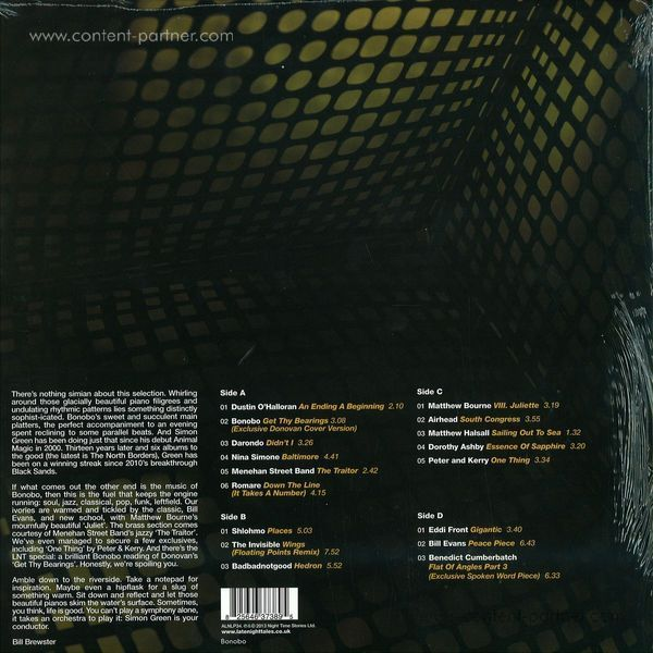 Bonobo - Late Night Tales - V.A. (Back)