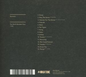 Bonobo - The North Borders Tour-Live (Back)